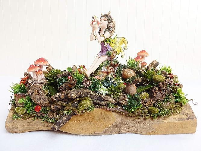 Deko Herbst Herbstdeko Schneckchen Tischdeko Wohndeko Gesteck Natur