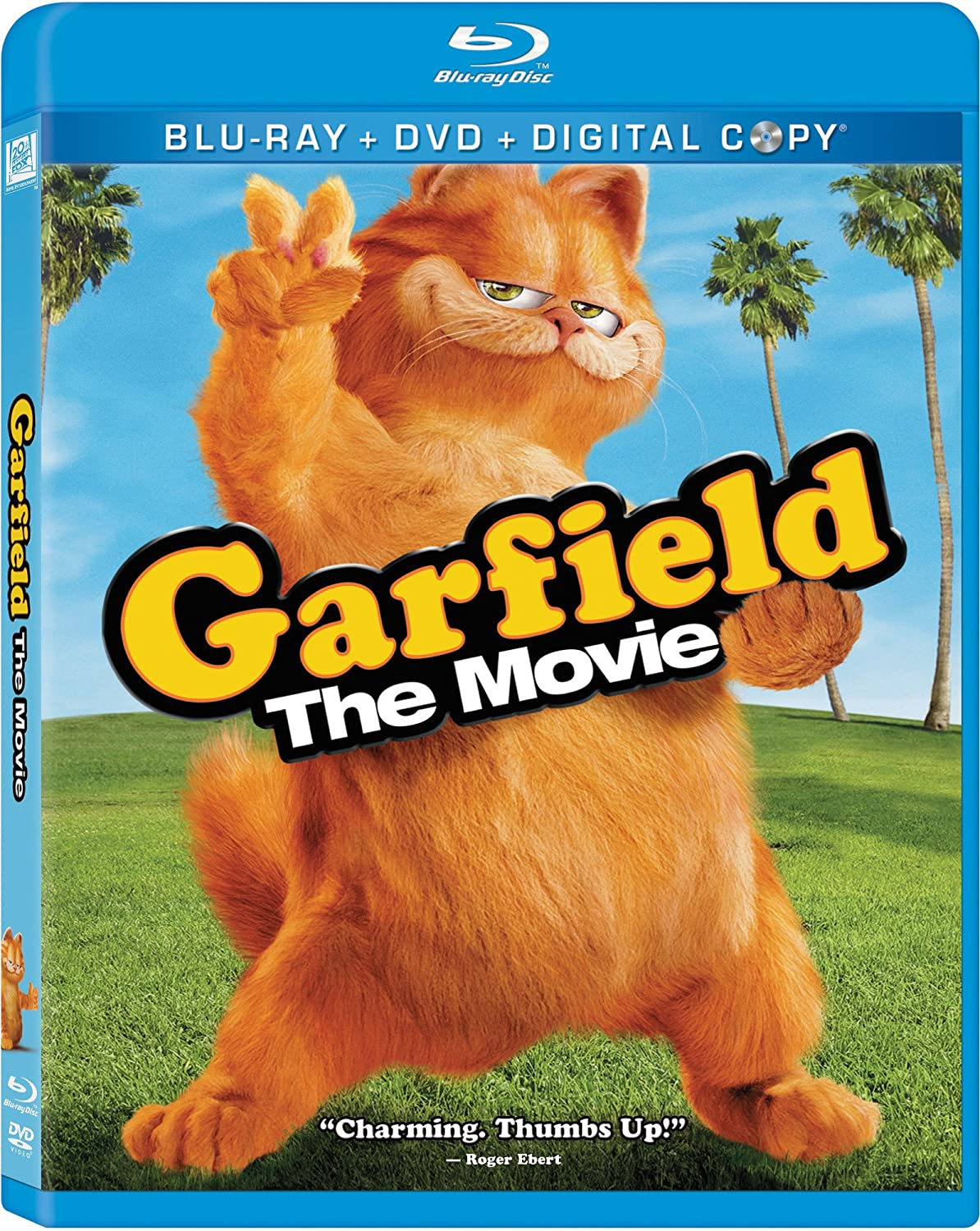 Amazon Com Garfield The Movie Triple Play Blu Ray Garfield The Movie Movies Tv