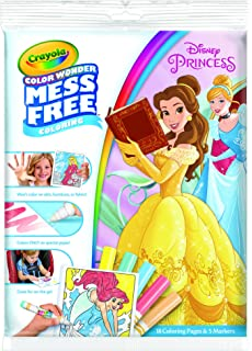 crayola disney princess colour wonder coloring pad markers set - Imagine Ink Coloring Book
