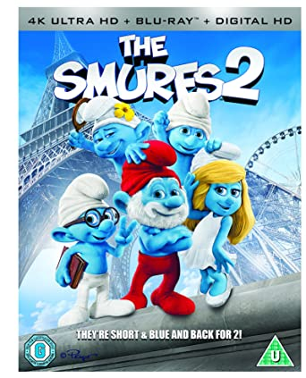 Amazon Com The Smurfs 2 Blu Ray 2013 Region Free Hank Azaria Movies Tv