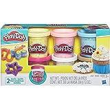 Massinha Play-Doh Confete 6 Potes Hasbro