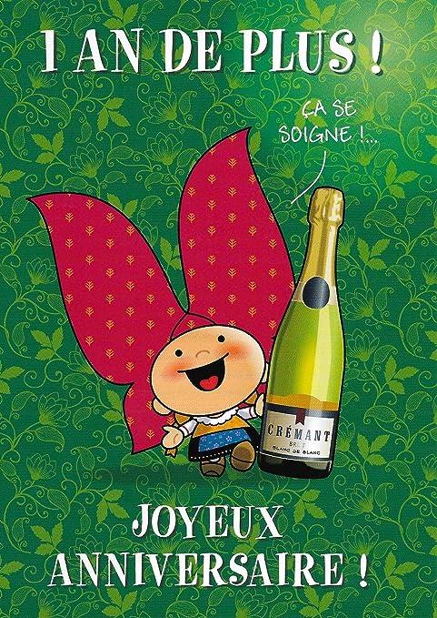 Alsace Cadeau Carte De Voeux Lovely Elsa Anniversaire Cremant