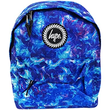 Hype Blue And Purple Backpack Bag - Thunder  Amazon.co.uk  Clothing 8f366a0d510d0