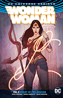 Wonder Woman 2016 Vol 5 The Heart Of Amazon