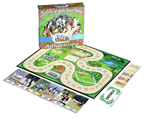 Amazoncom Fantasy Stables Regular Edition Board Game Toys Games
