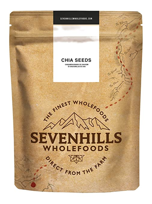 Sevenhills Wholefoods Semillas de Chia Crudo 2kg
