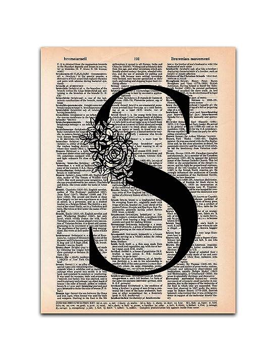 Top 10 Letter S Decor