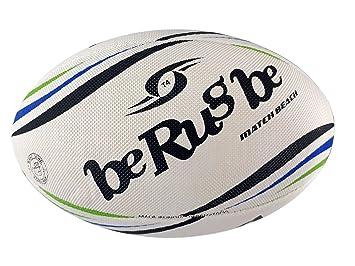 beRugbe 0brbmatbey5091004 de balón de Rugby para Adulto, Azul ...