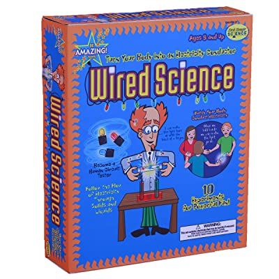 Be Amazing! Toys Wired Science Experiment Kits: Toys & Games