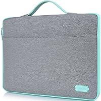 """ProCase Funda 14-15.6 Pulgadas para MacBook Pro 2016 15"""" / Alienware M15, Bolsa Portátil con Asa para 14"""" 15"""" Ultrabook Notebook ASUS Acer Lenovo Huawei MSI DELL HP Toshiba Chromebook -Gris Claro"""