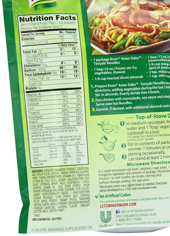 szechuan chicken nutrition information