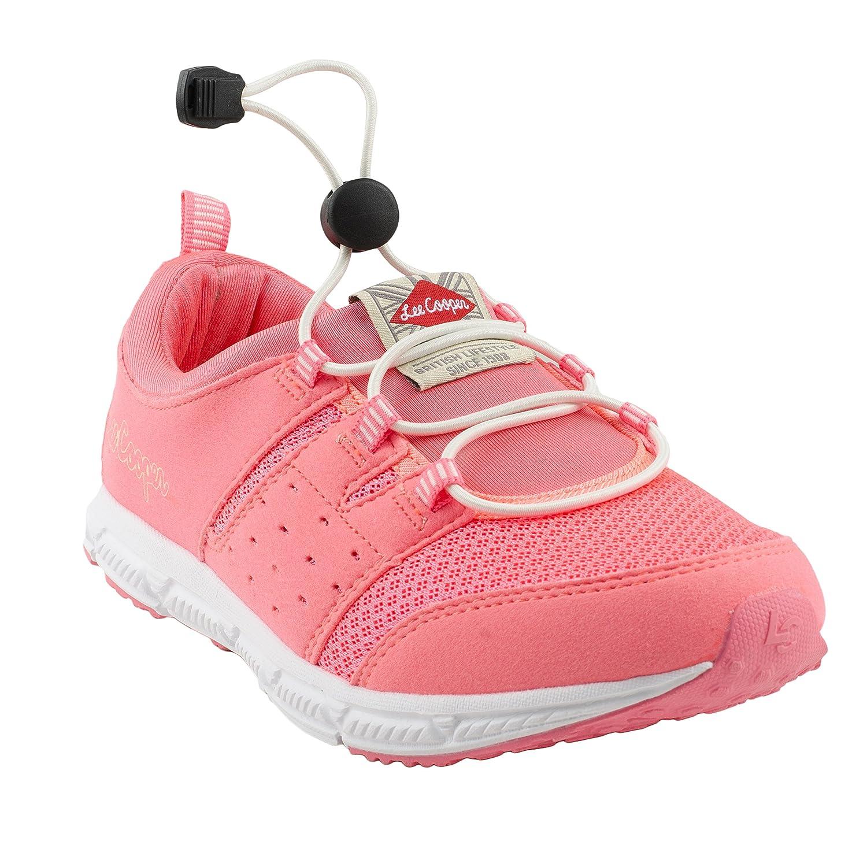 Pink-Beige Nordic Walking Shoes-8 UK