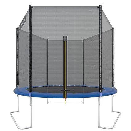 Ultrasport Outdoor Gartentrampolin Jumper, Trampolin Komplettset inklusive Sprungmatte, Sicherheitsnetz, gepolsterten Netzpfo