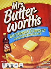 Mrs. Butterworth's Complete Buttermilk Pancake and Waffle Mix, 32 oz.
