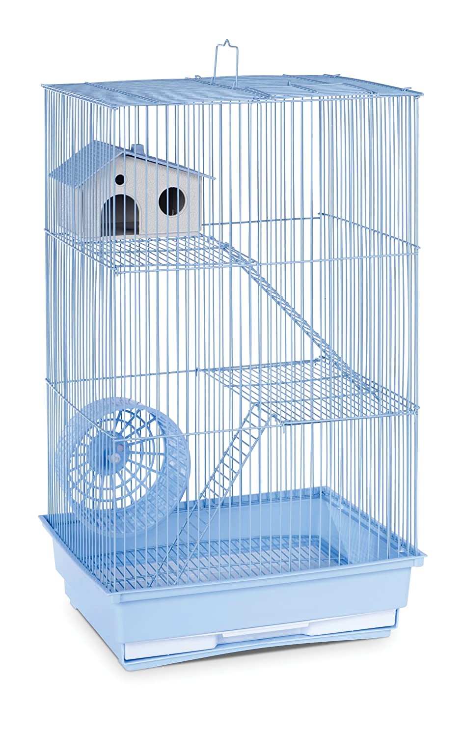 Prevue Hendryx SP2030B Three Story Hamster and Gerbil Cage, Light bluee
