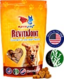 Glucosamine for Dogs - RevitaJoint - Maximum Strength Hip and Joint Supplement Treats for Small, Medium and Large Dogs, 65 Bacon Flavored Soft Chews