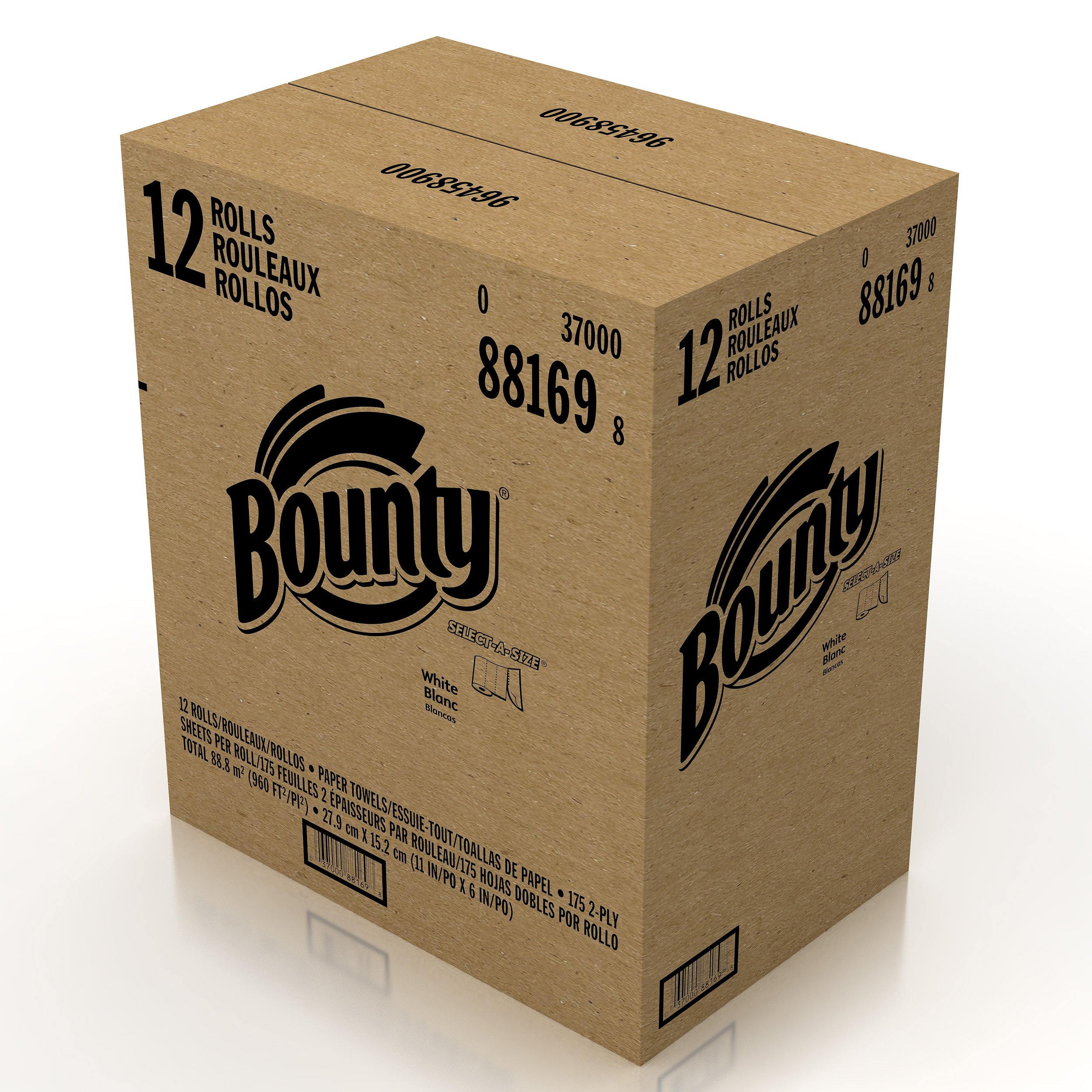 Bounty Select-A-Size Paper Towels, 12 Huge Rolls by Bounty (Image #7)