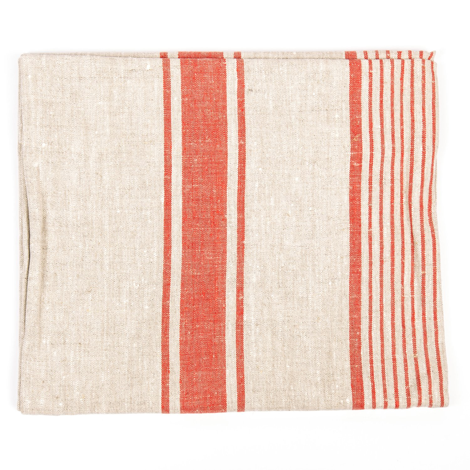 LinenMe Provence Tablecloth, 54 x 108'', Red