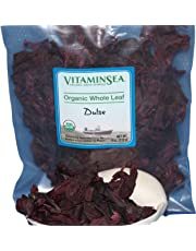 VITAMINSEA Organic Dulse Whole Leaf - 4 oz Maine Coast Seaweed - USDA & Vegan Certified - Kosher - Perfect for Keto or Paleo Diets - Atlantic Ocean - Sun Dried Raw Wild Sea Vegetables (DW4)