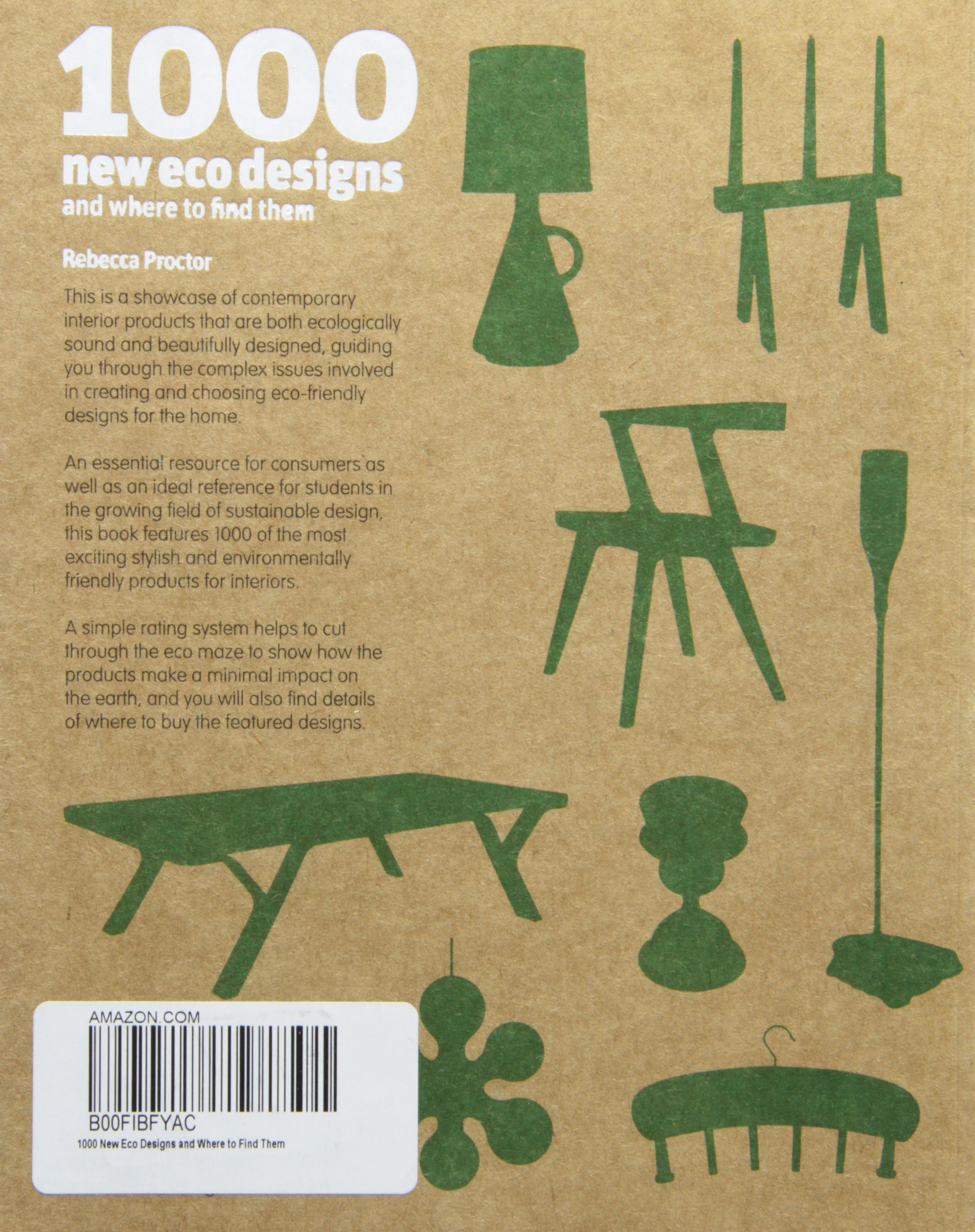 1000 New Eco Designs and Where to Find Them: Amazon.ca: Rebecca Proctor:  Books