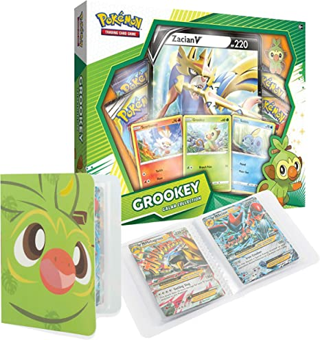 Totem World Galar Collection Box: Grookey & Zacian V con un Totem ...