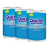 Quilted Northern Ultra Soft & Strong Septic-Safe Toilet Paper, 24 Supreme Bath Tissue Rolls (92+ Regular)