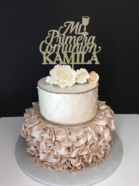 Decoración para tarta de boda para la pareja Mi Primera Comunión ...