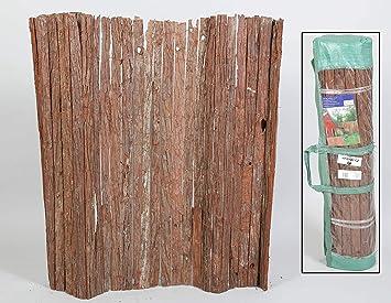 thesecrethome.es Valla OCULTACIÓN JARDÍN Exterior Corteza Natural 3 x 1.5 m para JARDÍN O TERRAZA: Amazon.es: Hogar