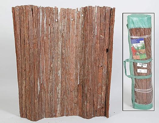thesecrethome.es Valla OCULTACIÓN Corteza Natural 3 x 1 m para Jardin O TERRAZA: Amazon.es: Hogar
