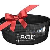 ACF Running Belt & Fitness Workout Belt w/ Multi-access Pocket Openings