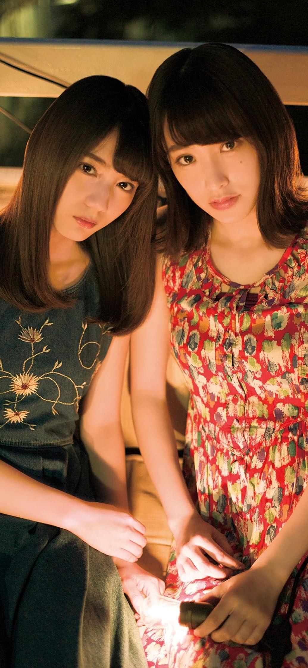 欅坂46 佐々木久美,小坂菜緒 iPhone XR,XS Max 壁紙画像