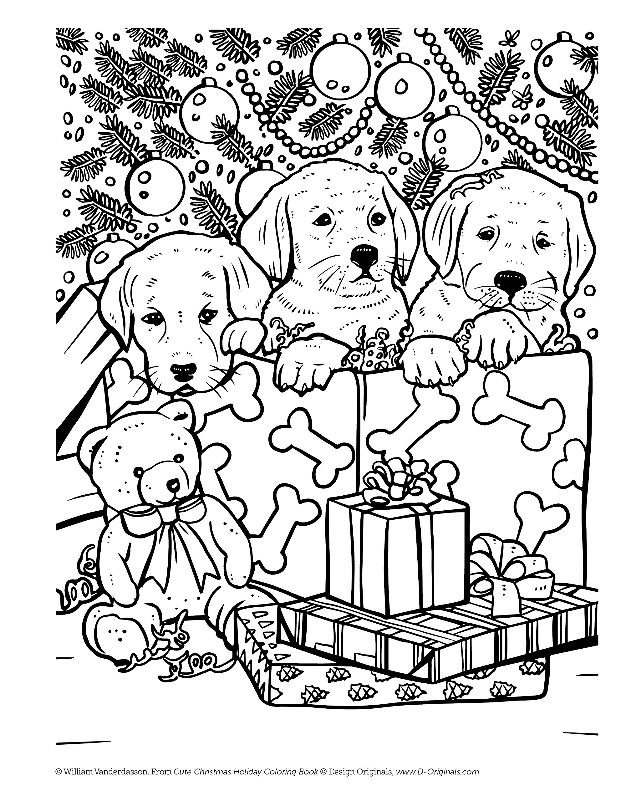 Coloring book download zip - Cute Christmas Holiday Coloring Book Design Originals 32 Kittens Puppies And Other Critters In One Side Only Designs On High Quality Extra Thick