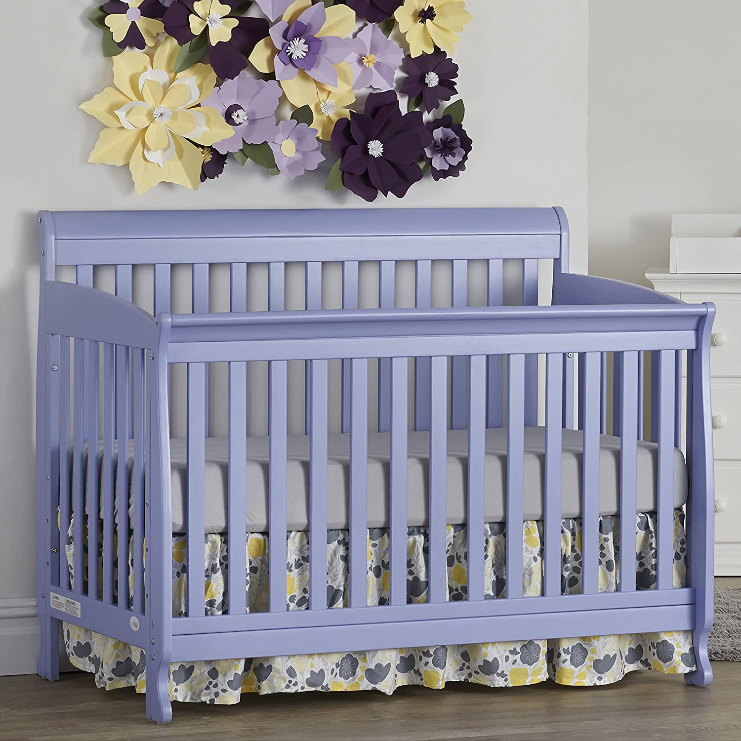 Suite Bebe Riley 4 in 1 Convertible Crib Lilac