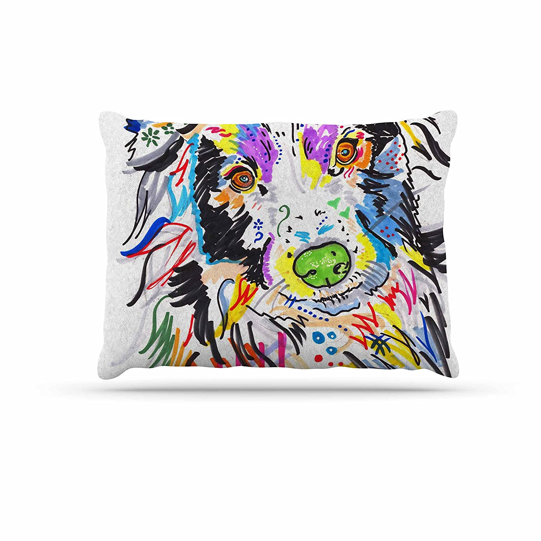 KESS InHouse Robin Dickinson The Dream bluee Green Photography Dog Bed, 50  x 40