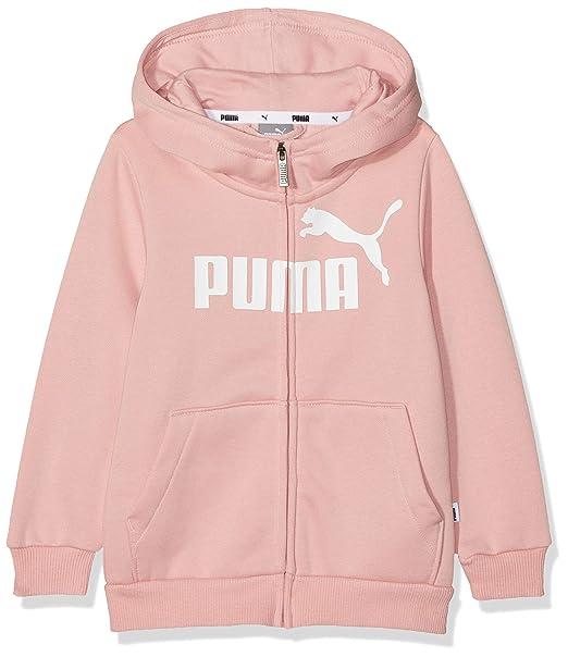 Puma ESS Hooded Jacket FL G Chaqueta De Entrenamiento, Niñas