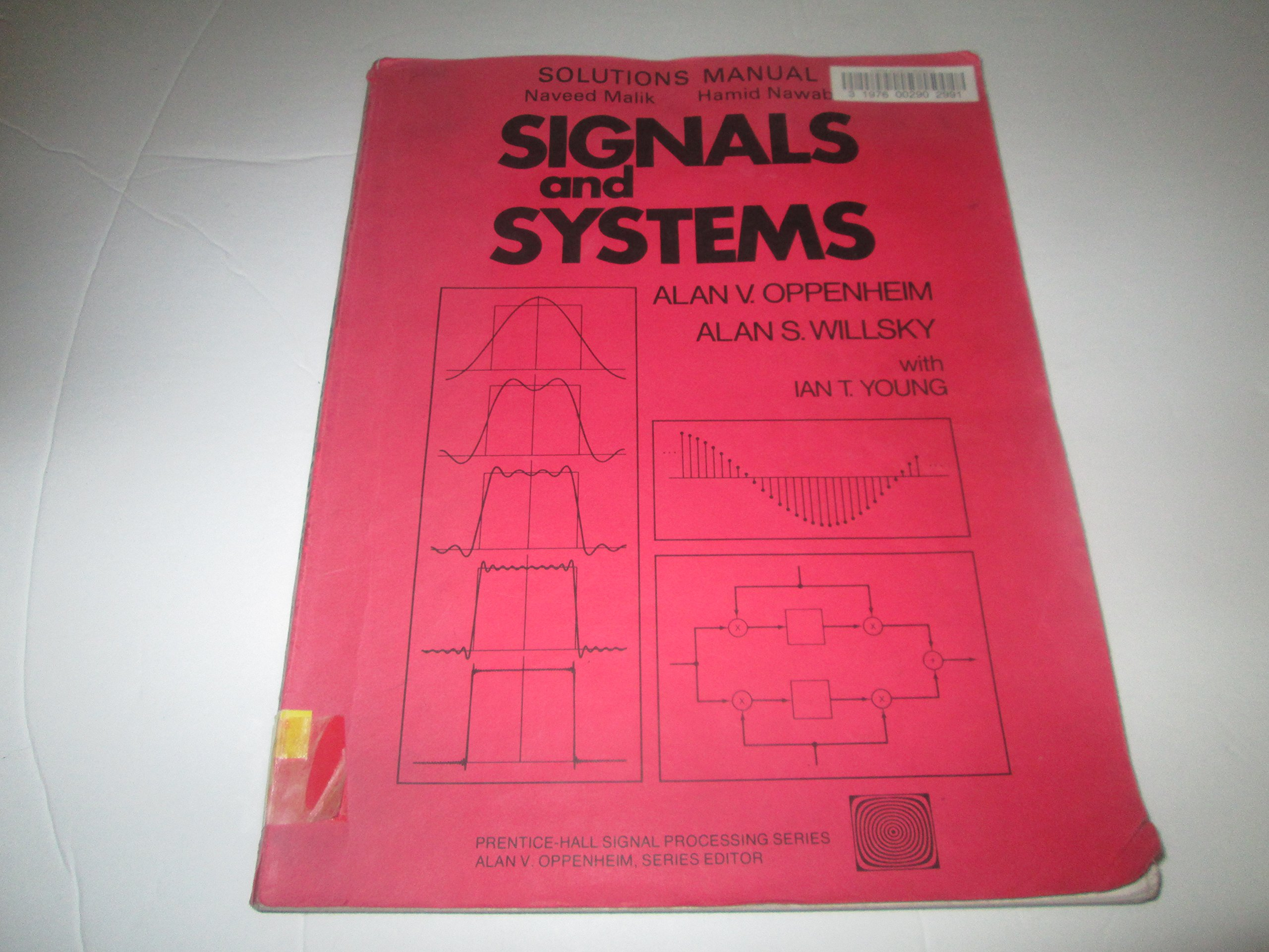 signals and systems solutions manual prentice hall naveed rh amazon com Student Solutions Manual Principles of Manufacturing Processes Metal Solutions Manual