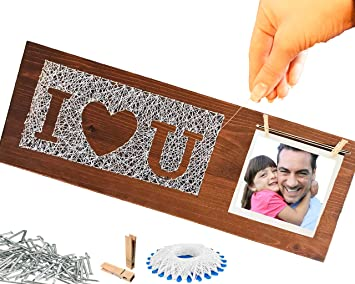 Geschenk Für Vater Papa Zum Basteln Geschenke Zum Vatertag Geburtstag Hochzeit Personalisiert Mit Foto Tochter Sohn Kind Geschenkideen Bester