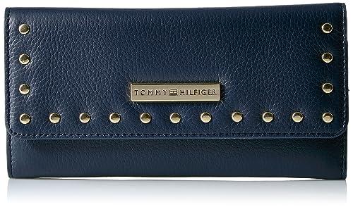 Tommy Hilfiger - Cartera para mujer mujer azul Tommy Navy: Amazon.es: Zapatos y complementos