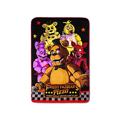 Five Nights at Freddy's Bed Blanket: Home & Kitchen