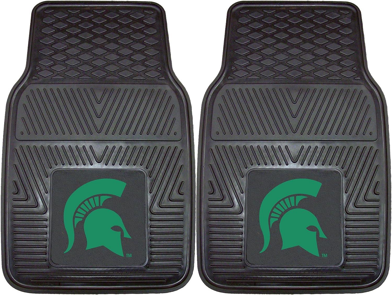FANMATS NCAA Michigan State University Spartans Vinyl Heavy Duty Car Mat