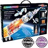 Laser Pegs 18000 Mars Rocket Mixed