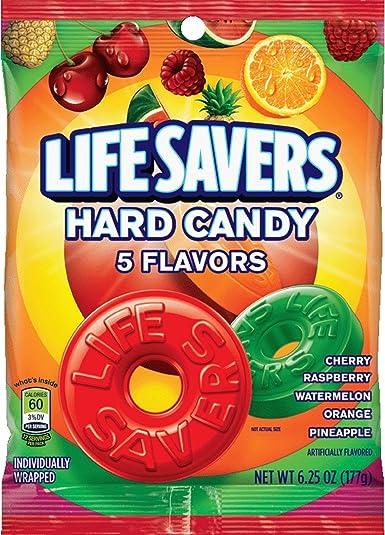 LifeSavers 5 Flavor Hard Candy, 6.25-Ounce Bags (Pack of 12): Amazon.es: Alimentación y bebidas
