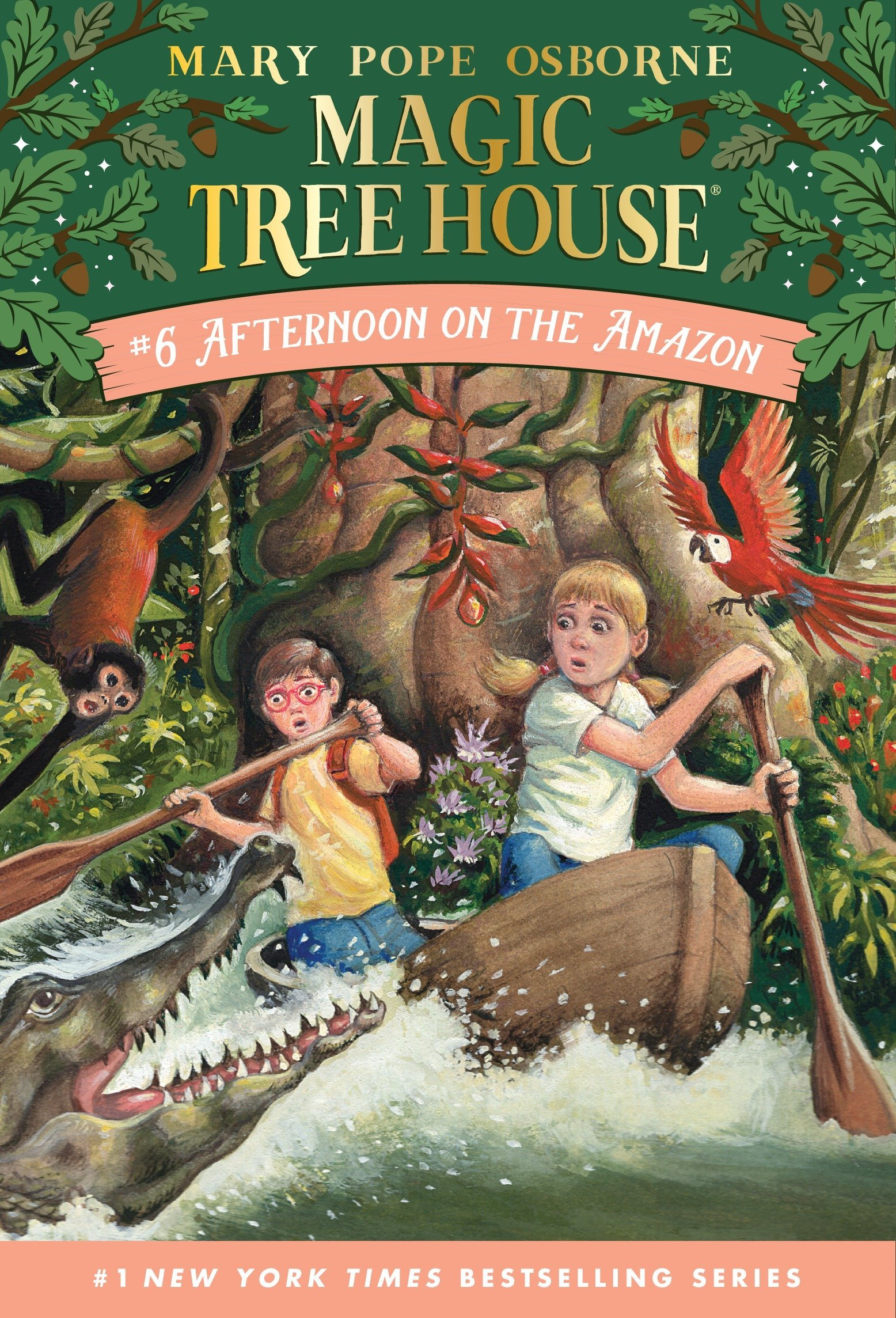 what age is appropriate for magic tree house books