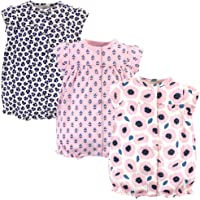 Touched by Nature Boys' Unisex Baby Organic Cotton Rompers