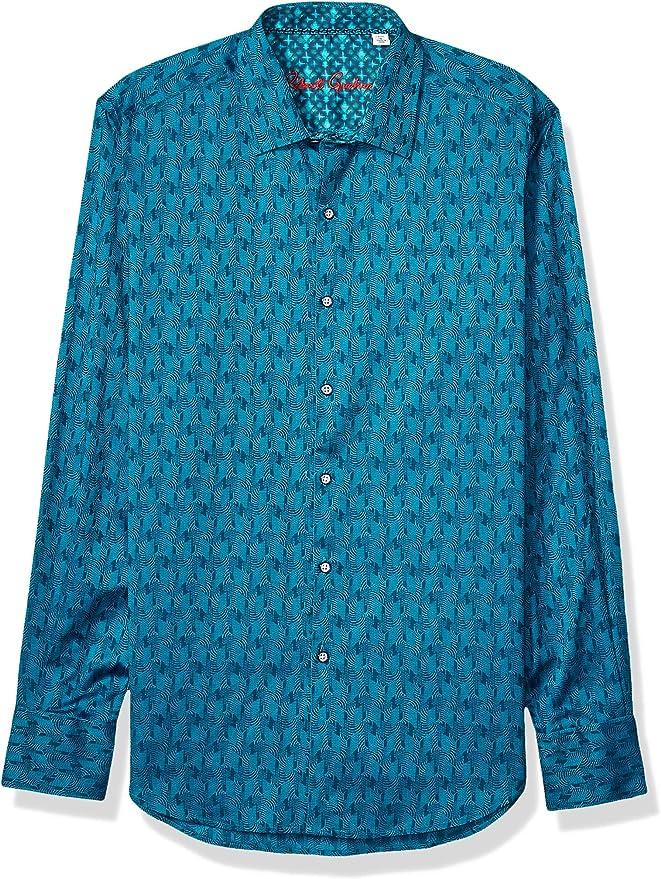 Details about  /Robert Graham Men/'s Havilland L//S Woven Shirt Choose SZ//color