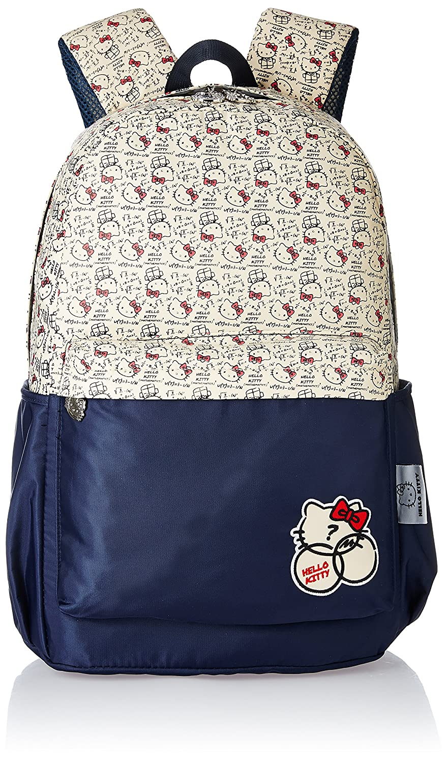 Hello Kitty Nylon 43 cms Blue and Biege Children's Backpack (Age group :6-8 yrs)