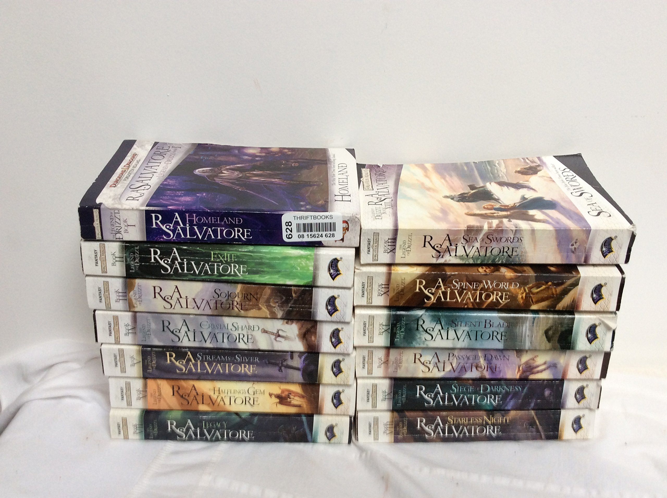 Legend of Drizzt The Forgotten Realms Series Set 1-13 By
