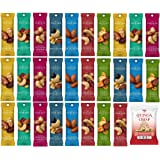 Sahale Snacks All Natural Nut Blends Grab And Go 7 Flavor Variety (1.5 oz x 28 Packs) with Quinoa Crisp Kettle