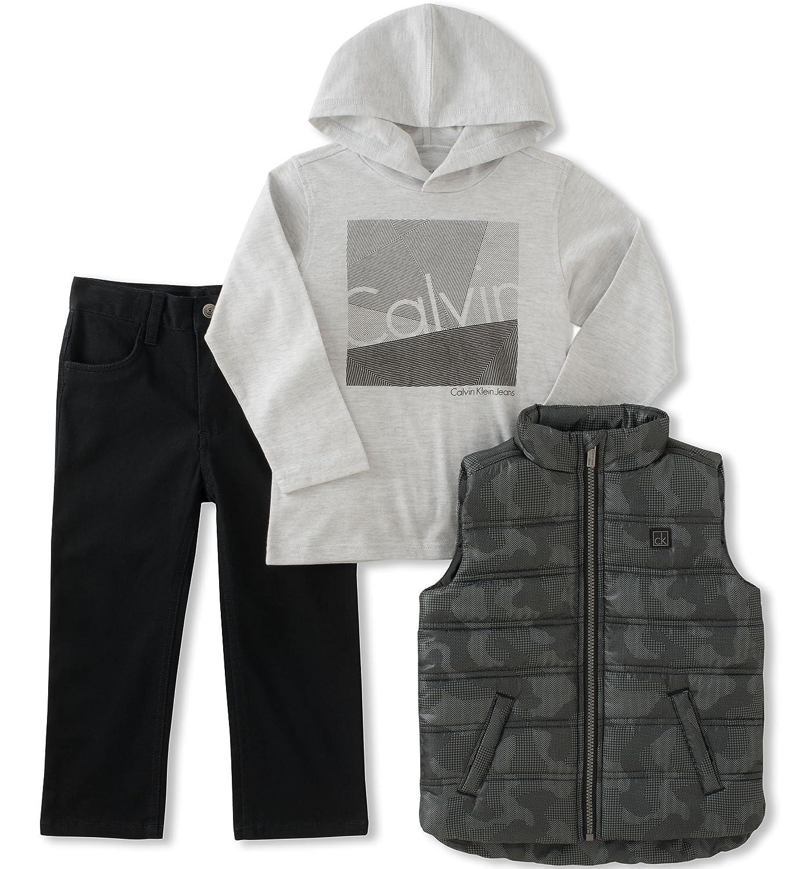 Amazon.com  Calvin Klein 3 Pc Vest Set Boys  Clothing d3cb56d56