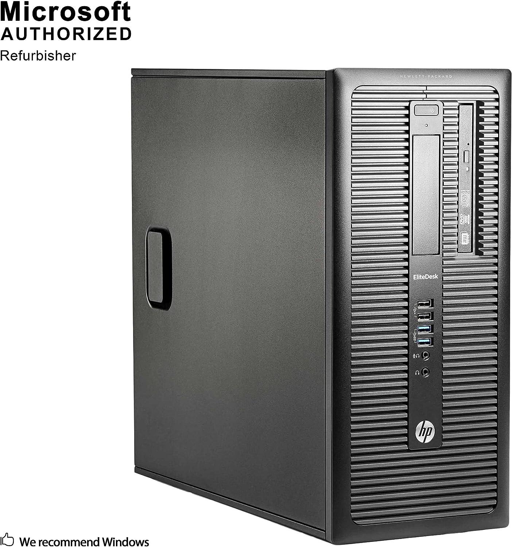 Fastest HP EliteDesk 800 G1 Business Tower Computer PC Intel Ci5-4570 upto 3.9GHz, 16GB Ram, 1TB HDD 120GB Brand New SSD, Wireless WIFI, Display Port, USB 3.0 Win 10 Pro Renewed
